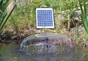 Solar-Teichpumpe / amazon.de