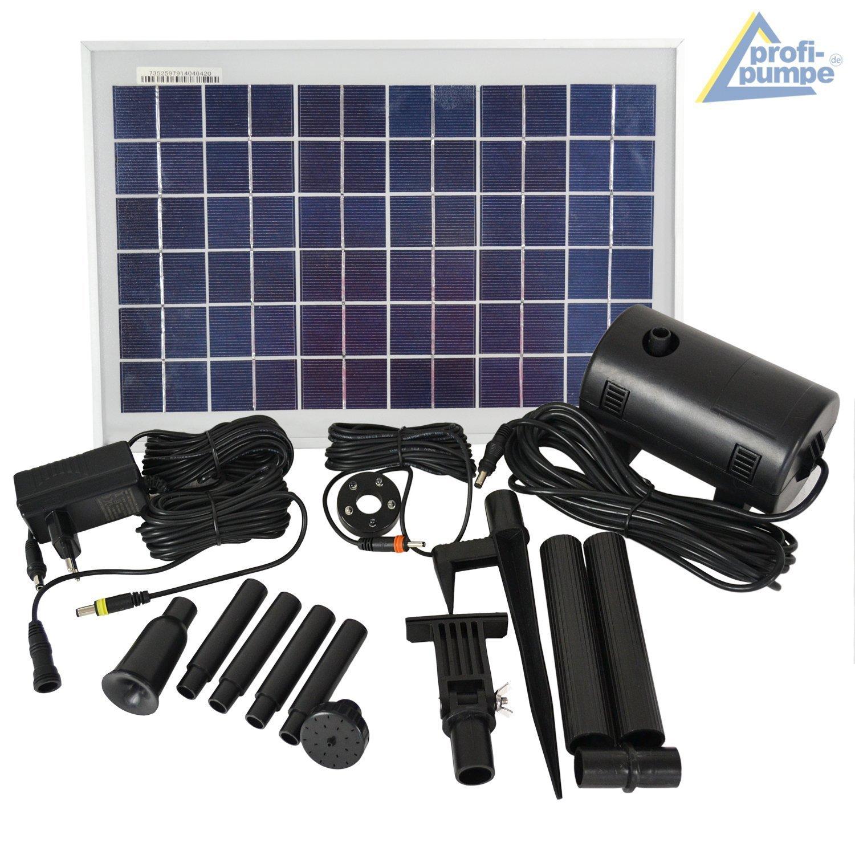 Amur Solar-Teichpumpe / amazon.de